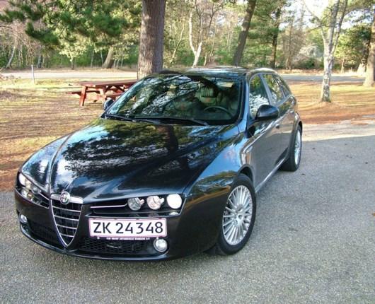 Alfa Romeo 159 - dobbelttest