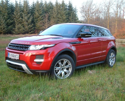 Range Rover Evoque SD4 Dynamic Coupé
