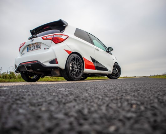Toyota Yaris GRMN – festversionen til de fartglade