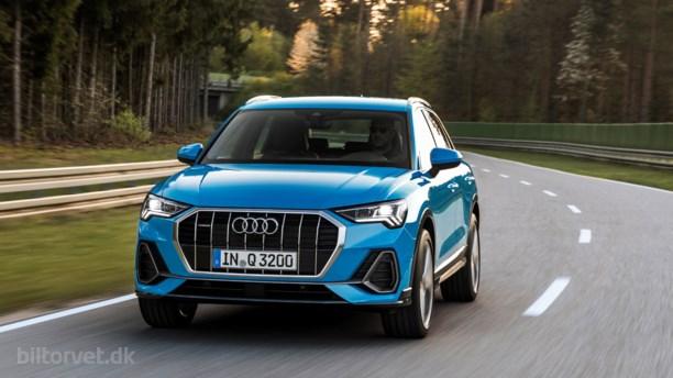 Audi sætter U'et tilbage i SUV med den nye Q3