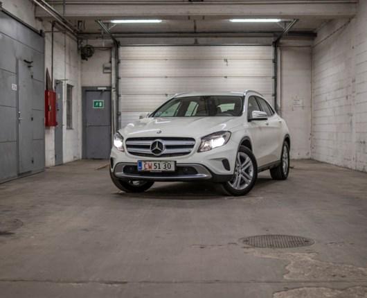 Fætter Højben - brugttest af Mercedes GLA