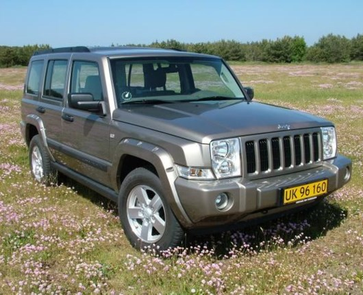 Jeep Commander 3,0 CRD aut. van