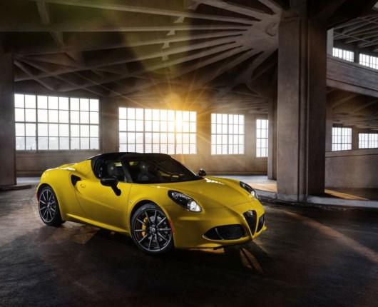 Endelig - Alfa Romeo 4C Spider