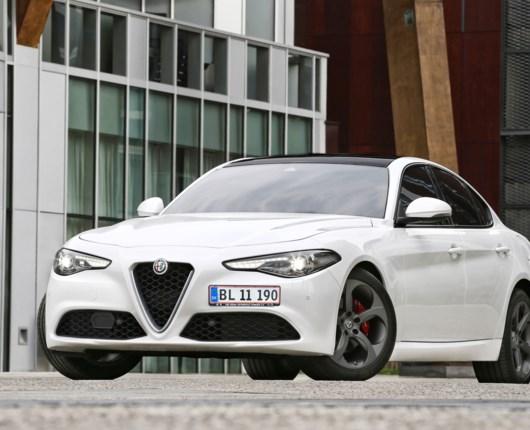 Alfa Romeo Giulia - Italiensk angreb på dominerende tyskere
