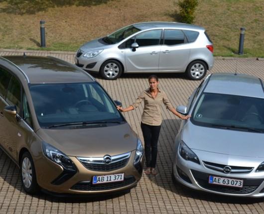 Mere udstyr og skarpe priser fra Opel