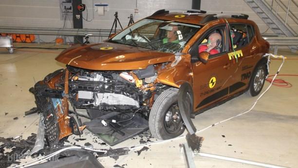 Pivringe – usædvanlig hård kritik af Dacia Sandero i crashtest