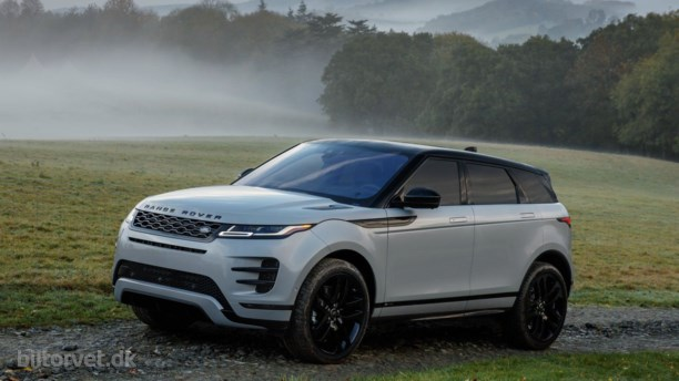 Ny Range Rover Evoque får teknologisk boost