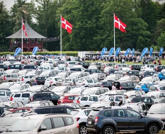 Dacia Picnic på Egeskov sætter ny rekord