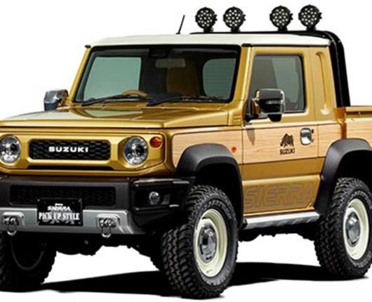 Lille slider – Suzuki Jimny Sierra Pickup Style