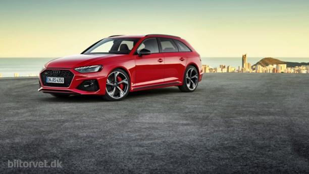 Skarpere RS 4 giver fingeren til SUV og sportsvogne