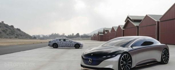 Mercedes elektriske S-model får en rækkevidde på 700 kilometer
