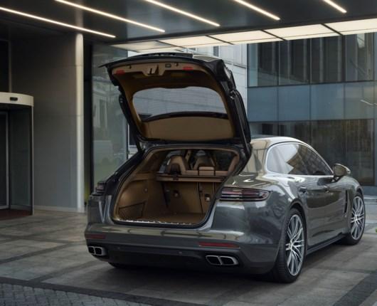 Ny stationcar fra Porsche - navnet er Panamera Sport Turismo