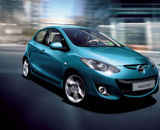 Facelift til Mazda 2