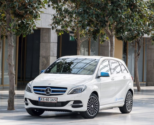 Mercedes-Benz B-electric drive