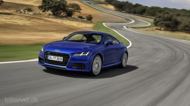Audi TT diesel - nu med quattro firehjulstræk