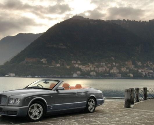 Bentley Azure T på LA Auto Show