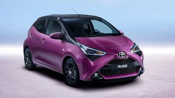 Mikro-favoritten får ny næse – her er den nye Toyota Aygo