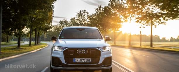 Grøn kæmpe-SUV med 700 Nm – Audi Q7 TFSI e quattro