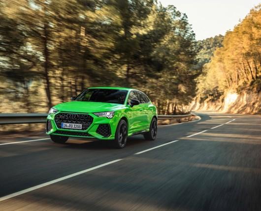 Audi RS Q3 bliver rå – fem cylindre og 400 heste