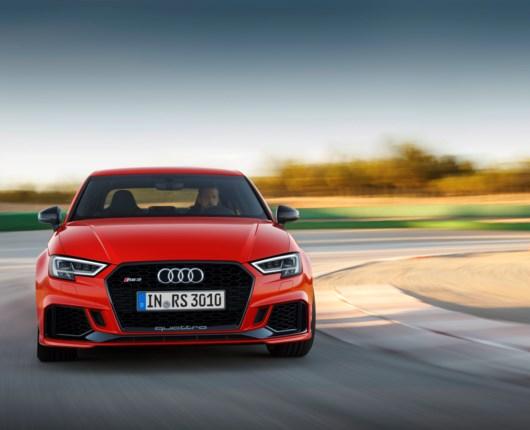 Første kig på den vilde Audi RS3 Limousine