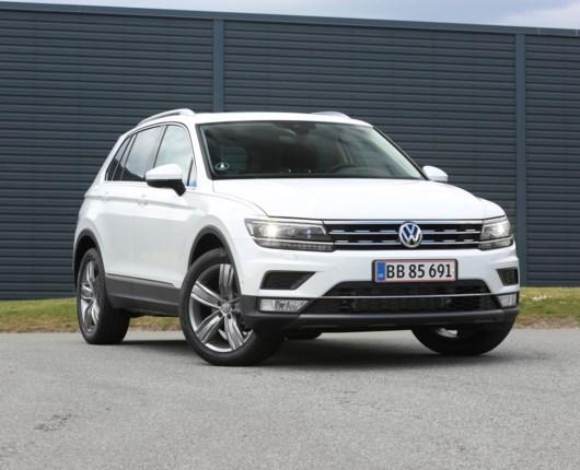 Imponerende god Tiguan fra VW
