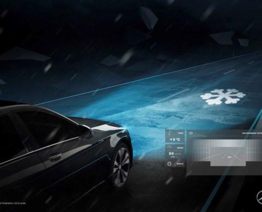 Mercedes revolutionerer forlygter med mikroreflektorer