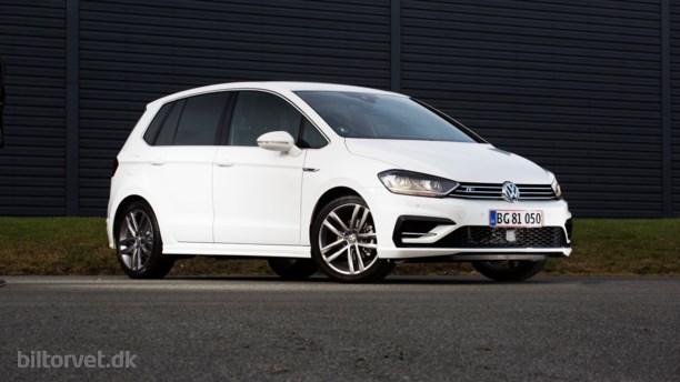 VW Golf Sportsvan R-Line - familiebiler behøver ikke være kedelige!