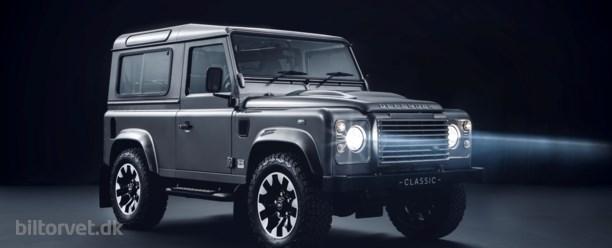 Mens vi venter på afløseren – 'kør hurtigt'-kit til din Land Rover Defender