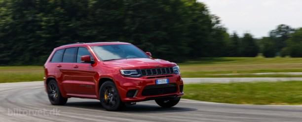 700 hk fra helvede – Jeep Grand Cherokee Trackhawk