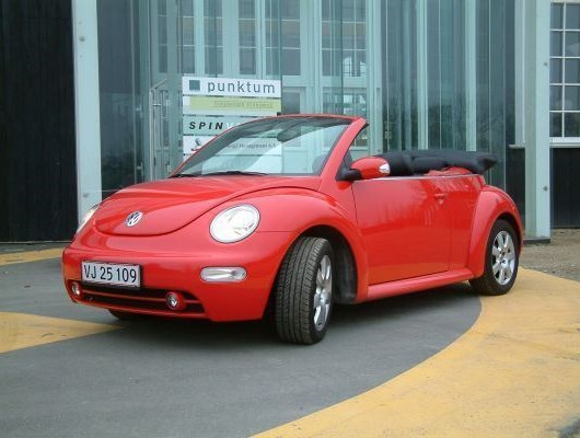 VW New Beetle 2.0 Cabriolet