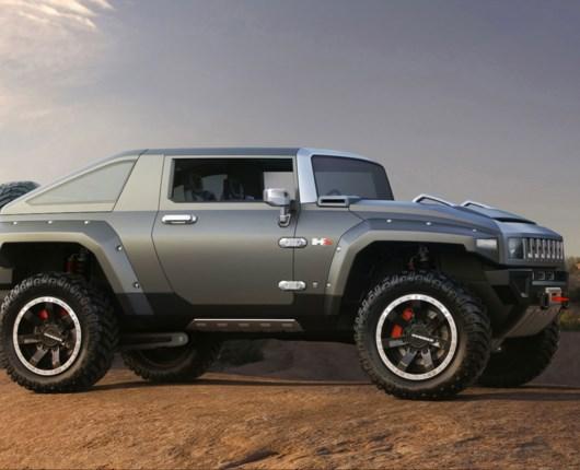 Hummer HX konceptet