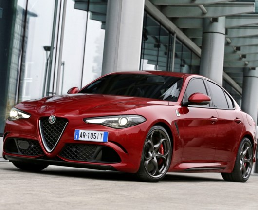 Premiere på Alfa Romeo Guilia!