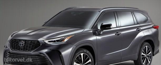 Toyota RAV4 får en storebror fra Amerika