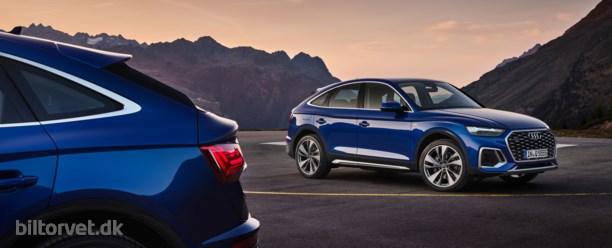 Audi elsker stilforvirring – nu kommer Q5 Sportback