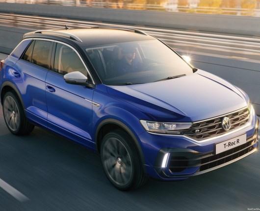Til 100 km/t på under fem sekunder – VW T-Roc R