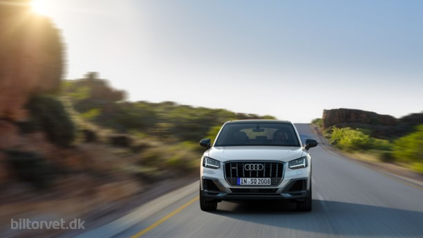 SQ2: Audis kone-crossover er hurtig som en Lamborghini