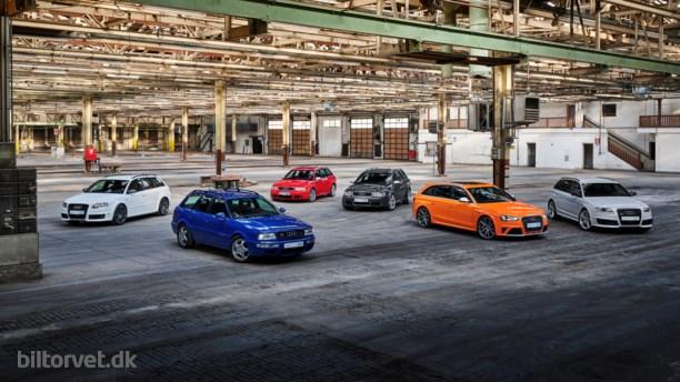 Audis sølvbryllup – 25 år med RS-modellerne