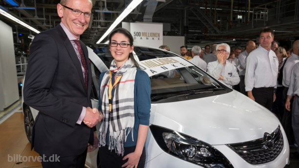 GM runder 500 millioner biler