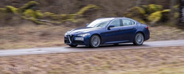 Alfa Romeo Giulia diesel er italiensk på godt og ondt