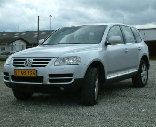 VW Touareg 5.0 TDI V10 aut. van