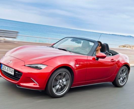 Ny Mazda MX-5 til september