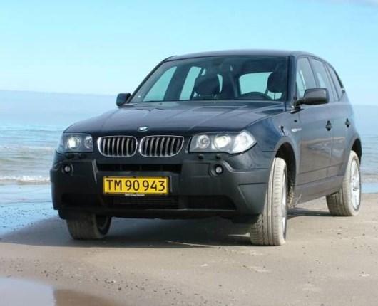 BMW X3 2.0d Van