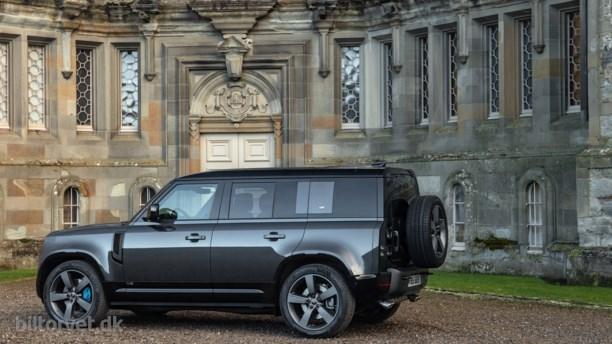 Land Rover klemmer 525 heste ned i ny Defender