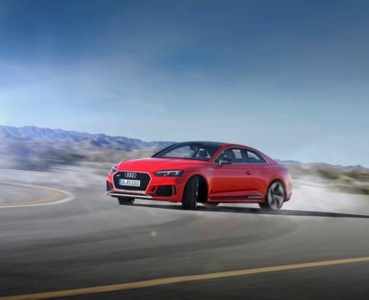 Ny Audi RS5 - 2,9 liters V6 med 450 hk