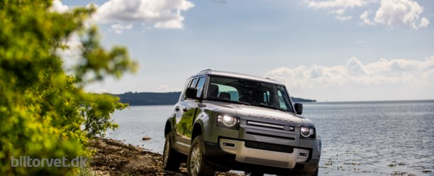 Land Rover Defender – to tons dynamik