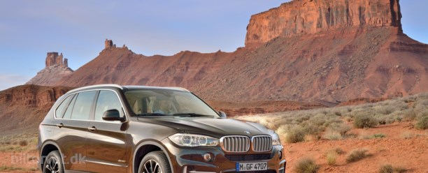 Ny BMW X5 til november