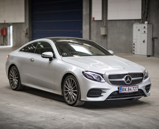 Gudesmuk bil fra Mercedes - E400 Coupé 4Matic