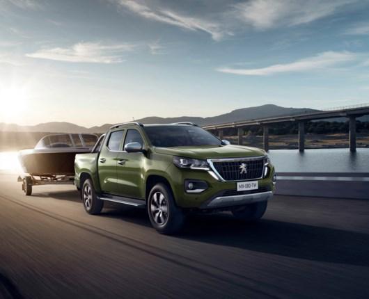 Peugeot bygger pickup til tredjeverdenslande
