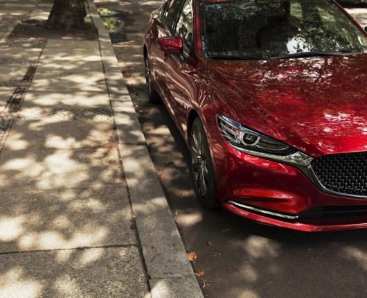 Opdateret Mazda6 vises frem i Los Angeles