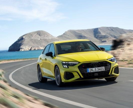 Ny Audi S3 får flere kræfter – og bliver langsommere